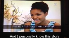 Miss Israel Yityish Aynaw: I will ask President Obama to Free Jonathan Pollard Israel TV Channel 2 News African American Heroes, Overcoming Quotes, Good People, Amazing People, 65 Years Old, Black History Facts, Orphan, A Decade, Ethiopia
