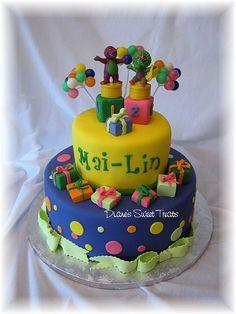 Mai - Lin's 2nd birthday cake