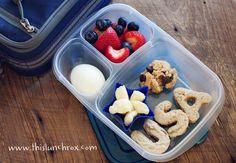 Healthy summertime lunch box idea. #redwhitebgosh