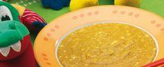 Crema de verduras y cereales vía www.mibebeyyo.com