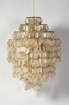 Ceiling lamp designed by Verner Panton for Luber, Swizerland. 1960's. — Modernity