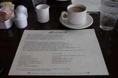 Brunch menu at The Roosevelt by pseudoknot, via Flickr