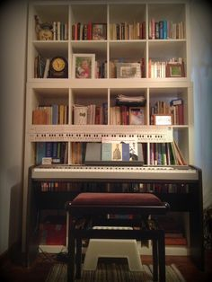 a little house in the woods: I don't have too many books, I just lacked shelves...