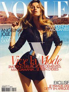 Vogue Paris, Gisele Bundchen