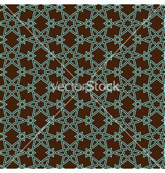 Pattern on islamic motif on VectorStock
