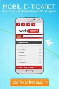 mobil e-ticaret artık webticaretim'de sizleri bekliyor. mobil e-ticaret http://webticaretim.com/mobil-uyumlu-eticaret sayfasında bulabilirsiniz.