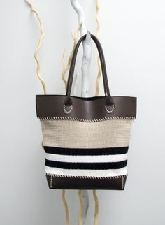 Summer bag - Brown | Buy, yarn, buy yarn online, online, wool, knitting, crochet | Buy Online