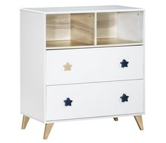 commode bebe happy blanc lumineux