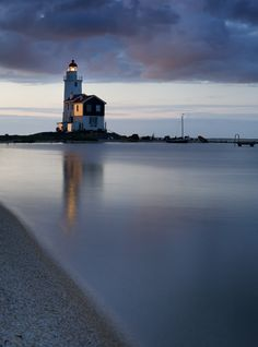 """Lighthouse in the morning (via JaccoH) """""""