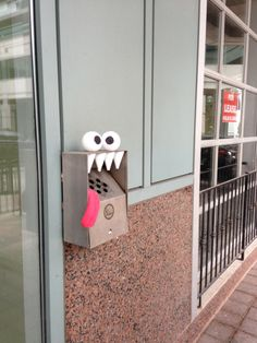 Street art monsters are watching you