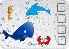 Sea animals - BINGO game