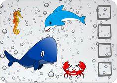 Sea animals - BINGO game