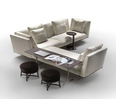 Sofas | Seating | Evergreen | Flexform | Antonio Citterio. Check it out on Architonic