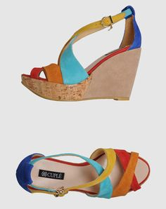 Cuple wedges. I love wedges.