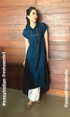 Long Kurta Designs, Salwar Suit Neck Designs, Kurta Neck Design, Neck Designs For Suits, Kurta Designs Women, Salwar Designs, Trendy Suits, Indian Designer Outfits, Fashion Design Sketches