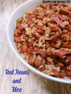 Spiced food is a stable for us in this house.  Also so is red beans and rice but we get so busy that I can't watch and make all day long like I used to.  So I came up with an idea to make and my pressure cooker and I tried it.  It came …