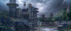 Post apocalyptic tribute, Juan Pablo Roldan on ArtStation at http://www.artstation.com/artwork/post-apocalyptic-tribute