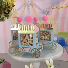 Baby Girl Shower Themes Tutorials 53 Ideas For 2019 1st Birthday Girl Decorations, Carousel Birthday Parties, Carousel Party, Carnival Themed Party, Circus Birthday, Circus Party, Girl First Birthday, 1st Birthday Parties, Dumbo Baby Shower