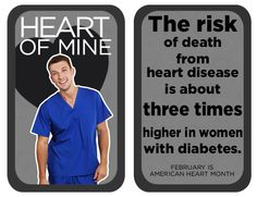 The risk of death from heart disease is about three times higher in women with diabetes. Heart Disease Facts, Dental Scrubs, Same Day Delivery Service, Lab Coats, Nursing Dress, Diabetes, Death, Times, Diabetic Living