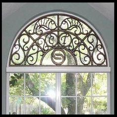 Semi Circle Window Treatments On Pinterest Arch