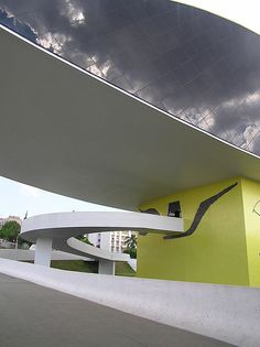 Oscar Niemeyer Museum, Curitiba, Brazil by Oscar Niemeyer