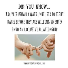 is exclusive dating a relationship