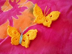 Step-by-step with instructions - nice butterfly shape.
