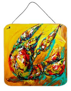 Crawfish Anyway You Like It Aluminium Metal Wall or Door Hanging Prints