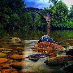 Que bonito rincón del Señorío de Bertiz.. que bonita foto... (By @Juan.carlos.l- #Instagram) #Navarra #naturaleza