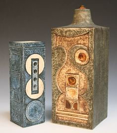Vases, Troika Pottery