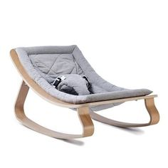 Transat LEVO Bébé avec assise Sweet Grey