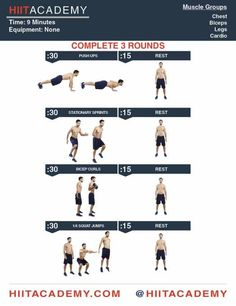 9 Minute Monday HIIT