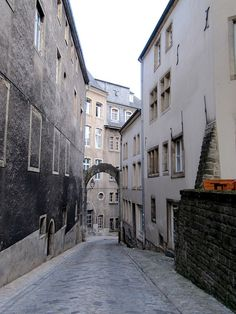 Medieval Alley, Old Town, Luxembourg City, Luxembourg. I had so much fun when I went there. Maybe one of these days I'll get back there.