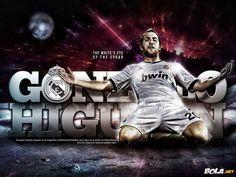 Gonzalo Higuain Real Madrid Wallpaper HD 2013