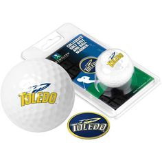 Toledo Rockets Golf Ball One Pack with Marker