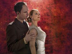 EVITA Thomas Borchert & Katharine Mehrling © VBW / Rafaela Proell  musicalvienna vienna wien theater theatre ronacher