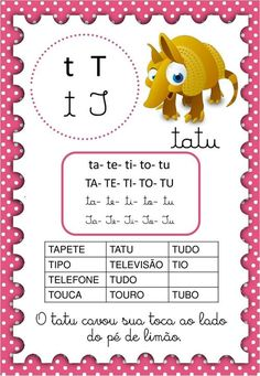 Paula Batista's media content and analytics Reading Activities, Activities For Kids, Crafts For Kids, Portuguese Lessons, English Reading, Literacy, Homeschool, Education, Cards
