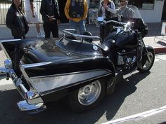 57 chevy trike | ... Road Show (7) Boss Hoss 57 Chevy Trike Black | Flickr - Photo Sharing