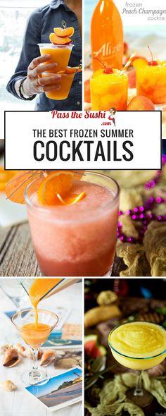 Frozen Summer Cocktails
