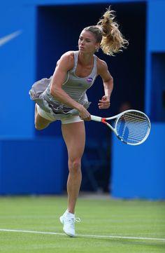 Camila Giorgi Photos Photos: Aegon Classic – Day 1 – From Parts Unknown Camila Giorgi, Golf Knickers, Foto Sport, Tennis Players Female, Boot Camp Workout, Sport Tennis, Tennis Stars, Tennis Clothes, Tennis Outfits