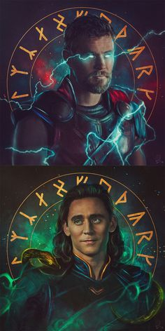 "Thor For peace and trust can win the day Despite of all your losing. Loki So now you'd better stop And rebuild all your ruins ( "" Immigrant song"" - Led Zeppelin)"