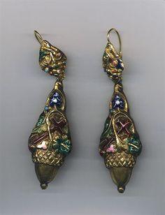 Earings, António Gaspar Moreira Baltar, XIX, Portugal