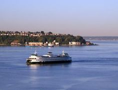 Washington State Ferry Visitor Guide: Transportation to Washington Islands and Across Puget Sound
