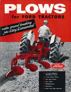 Plows for Ford Tractors