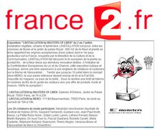 France 2 2010 Monster by on aura tout vu at Palais Royal