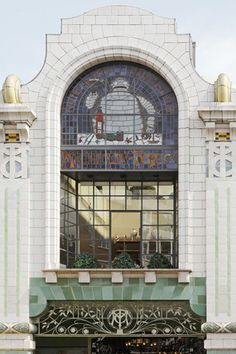 Blueprint cafe london w a n d e r l u s t pinterest cafes close up of one of the stained glass window in michelin house one of my favourite buildings in london malvernweather Gallery