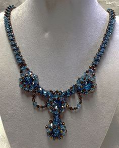 "Inspirations: Beautiful Beadwork Creations ""Wedding Jewelry Sets"" by Gina Moody featured today in Bead-Patterns.com Newsletter!"