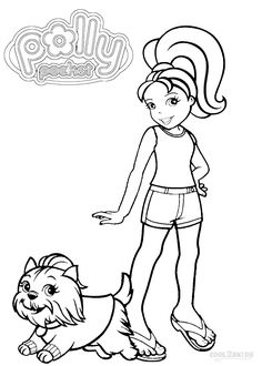 Printable Polly Pocket Coloring Pages For Kids | Cool2bKids