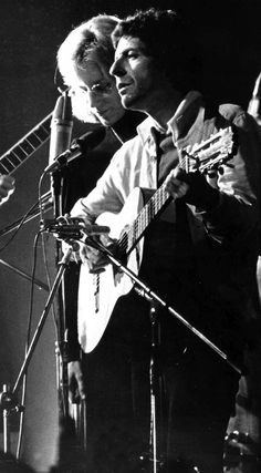 Leonard Cohen and Jennifer Warnes 1972