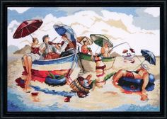 click here to view larger image of Water Lunch (counted cross stitch kit)